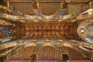 Cappella Palatina - Soffitto