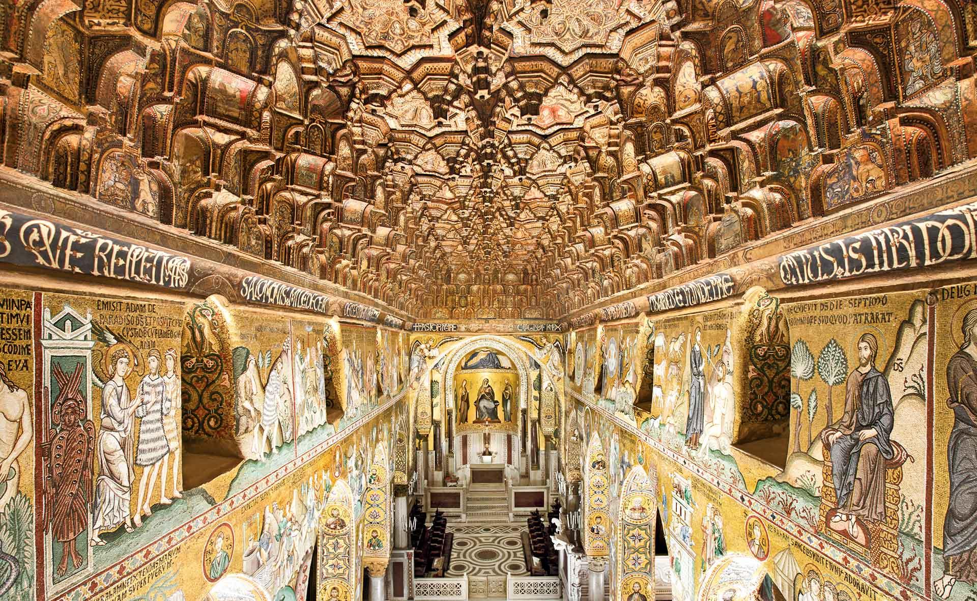 Cappella Palatina - Vista Superiore