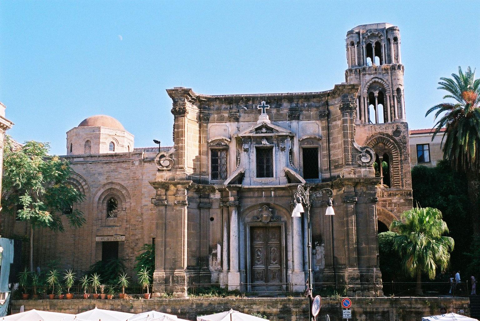 chiesa santa maria dell'ammiraglio (la martorana)